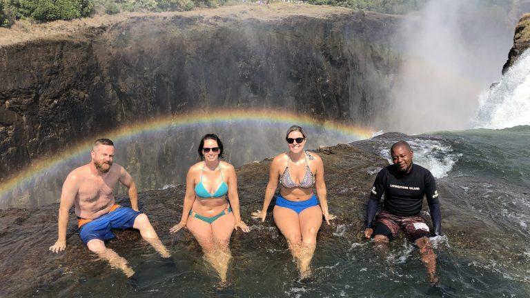 Devil's Pool - Victoria Falls, Zimbabwe